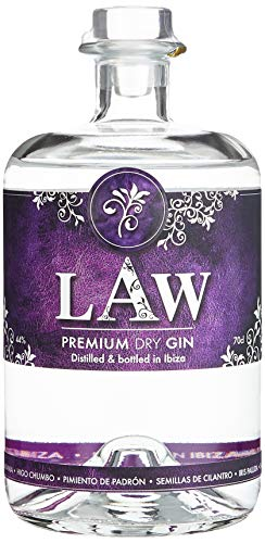 LAW Ibiza Premium Dry Gin (1 x 0.7 l)