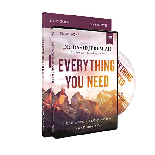 Everything You Need Study Guide with DVD: 7 Essential Steps to a Life of Confidence in the Promises of God
