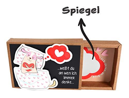 Valentinstag Geschenk für ihn - romantisches Kreatives witziges Geschenk für Männer zum Valentinstag ♥ originelle Geschenke zum selber machen BASTELSET ♥ ausgefallene nette süße liebevolle Geschenke