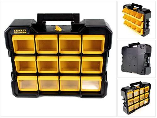 Stanley FatMax Flip Bin Organizer Werkzeugkoffer stapelbar (FMST81077-1)
