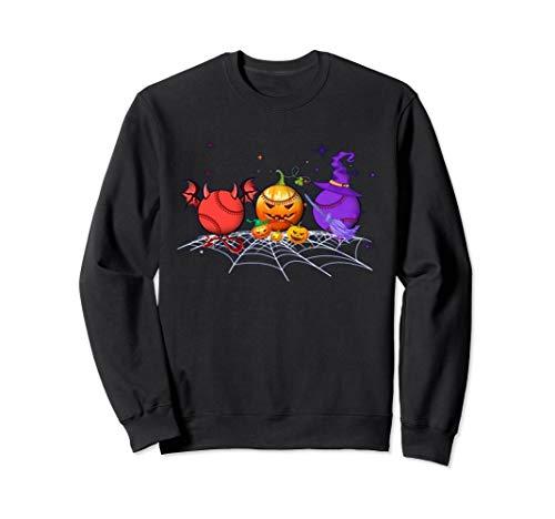 Lustige Baseball Kostüm - Baseball Halloween lustig Sweatshirt