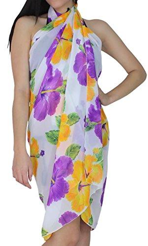 leichte Abdeckung nach oben dress.beach mat.shawl.halterneck dress.toga 3 in 1 Flora