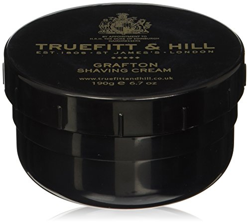 Hill Spanish Leather (Truefitt & Hill Grafton Shaving Cream 190g/6.7oz - Parfum Herren)