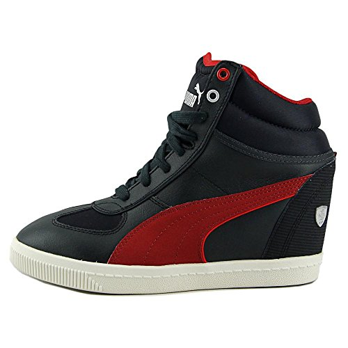 Puma SF Wedge Selection NM Cuir Baskets Moonless Night-Scooter