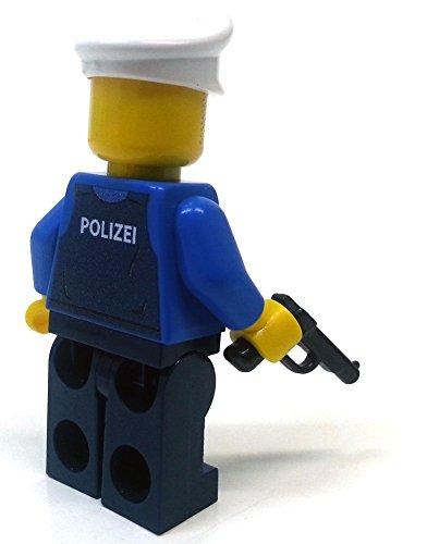 Modbrix 8237 – 2 Stück Deutsche Polizei Custom Minifiguren aus original Lego© Teilen - 4