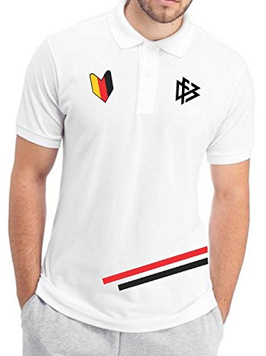 642 Stitches Germany World Cup Men's Cotton Polo T-Shirt