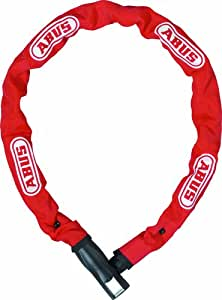 ABUS Bike Steel-O-Chain 880 bike Lock - 85 cm, Red