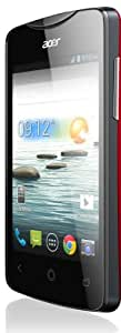 Acer HM.HCSEF.002 Smartphone Android 4 Go Rouge Laqué