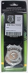 DETECTIVE BADGE & FLIP WALLET w/ ID CARD Playset by Greenbrier International