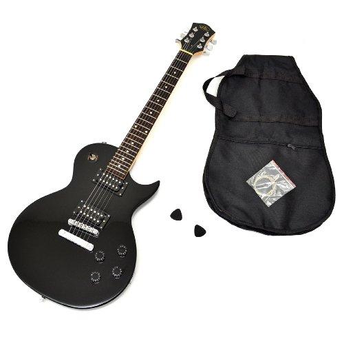 Ts ideen 5235 guitare lectrique avec housse cordes de for Housse guitare electrique