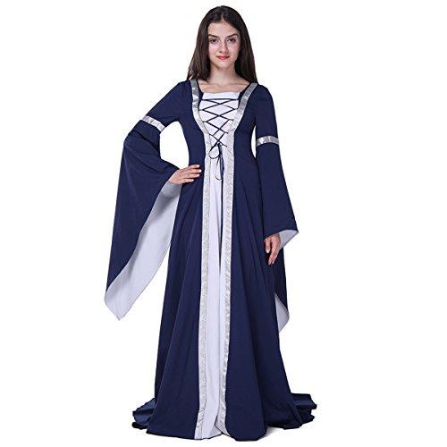 Hexen Spar Kostüm für Damen, Kostüm Halloween Cosplay Dress, Größe XL 149CM (Kinder Gaga Lady Halloween Für Kostüme)
