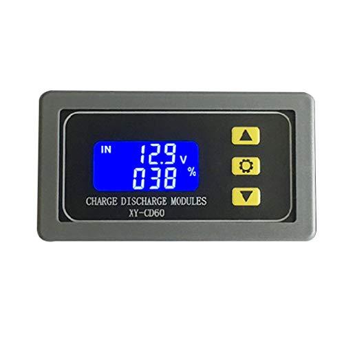 XY-CD60 Solar-Batterie Lade-Entladungsprüfung Controller-Modul DC 6-60 V Spannungs-Schutz-Detektor Batterie-Statusanzeige