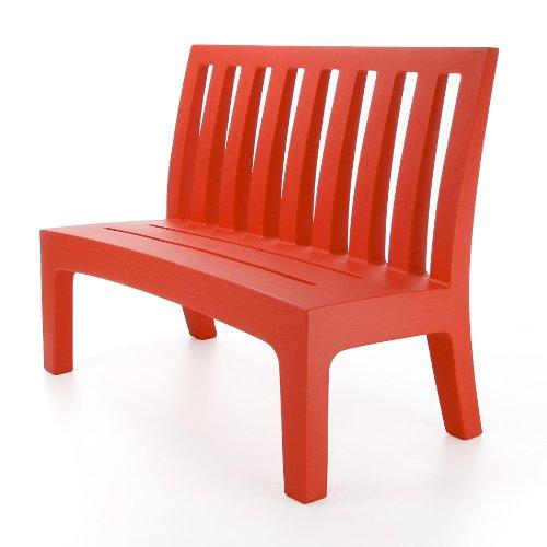Serralunga Romeo Gartenbank, rot 115x96x61cm