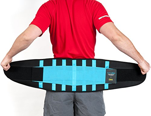 £19.99 Back Support   ActiveBak Lower Back Brace For All Sports   Medical-Grade   Lumbar Support For Proper Form, Injury Prevention & Dramatic Pain Relief   Slims & Trims Waistline   For Active Men & Women By Clever Yellow   4 Sizes