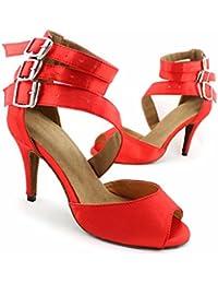 misu - Zapatillas de danza para mujer multicolor multicolor, color multicolor, talla 36.5