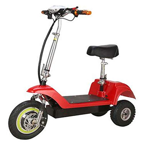 Noble Elektrisches Roller-erwachsenes Mini Elektrisches Dreirad, Das Lithium-Batterie-Batterie-Auto Faltet (mehrfache Farbe) Red