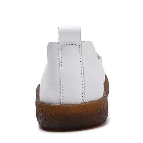 Aleader  Loafers, Mocassins pour femme Blanc