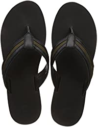 United Colors Of Benetton Men's  Leather Flip Flops Thong Sandals