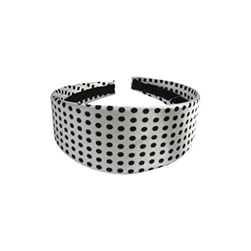 Rockabilly Haarreif Haarband Haarschmuck Stirnband mit Punkten 5 cm Einheitsgröße 100% Plastik (84112-171-000)