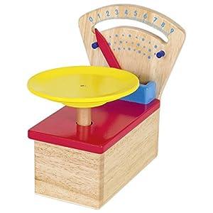 Goki 51576 - Juegos de rol (Cocina y Comida, Estuche de Juego, Multicolor, Madera, CE, 120 mm)