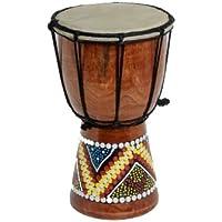 30cm, 25cm, 20cm, 15cm, 12cm), los niños de Djembe tambor Bongo pintado (instrucciones pueden no estar en inglés)