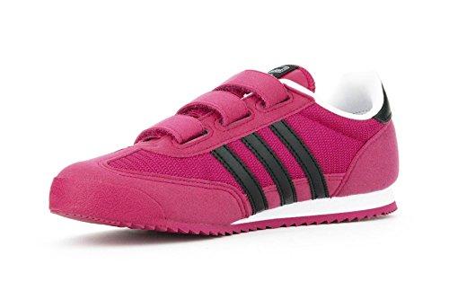 Adidas M17083, Chaussures de Running Entrainement Fille FUCS/BLK