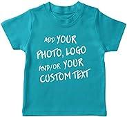 lepni.me Maglietta per Bambini/Ragazzi Regalo Personalizzato Personalizzato, Aggiungere Il Logo Aziendale, Il