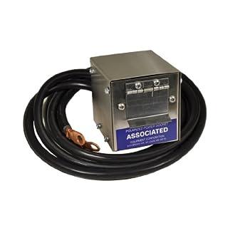 Associated Equipment 6137Edelstahl Phantasie Polarisierte Steckfassung Box für Plug-in Kabel-Set (Teil Nr.: 6139)