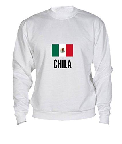 Felpa Chila city White
