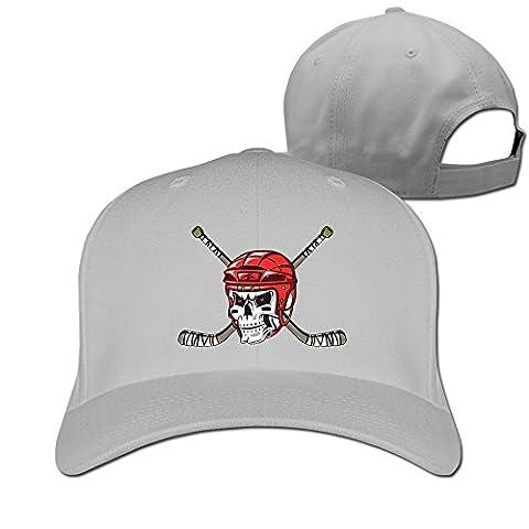 THNA Skull Hockey Club Logo Adjustable Fashion Baseball Cap One Size