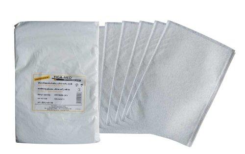 Waschhandschuhe Einmal- Einweg- ultrasoft Molton, Waschlappen, weiss Original Tiga-Med Qualität, 500 Stück -