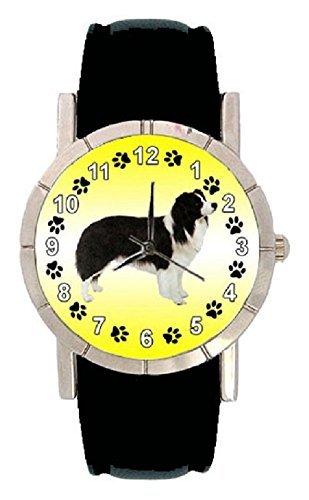 border-collie-orologio-da-polso-pelle-colore-nero