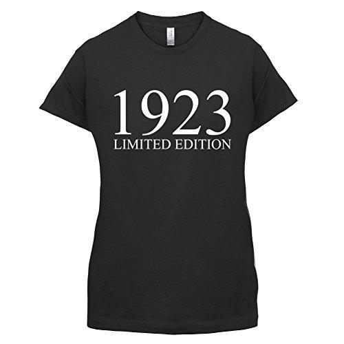 1923 Limierte Auflage / Limited Edition 94 Geburtstag Damen TShirt 14 Farben  Schwarz