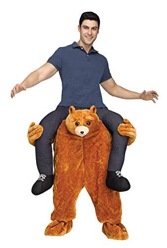 Bär Teddy Carry Me Kostüm - WiTa-Store Z883230 Carry Me Teddy Bär Kostüm, Baby