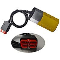 Universaldiagnoseschnittstelle DS150Egold Kit de Escáner de Herramientas de Diagnóstico con Bluetooth