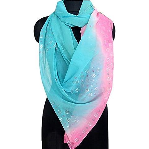 bufanda dupatta época de color rosa indio hijab impresa robó la gasa de la nave pañuelos de tela velo utilizada mujeres materiales hechos a mano vestido de abrigo del hombro de tela reciclada cubre la cortina