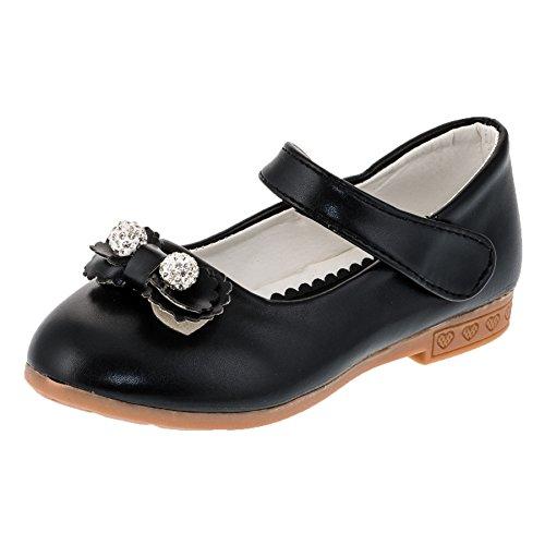 Infiniti Festliche Mädchen Ballerina Schuhe in Vielen Farben M278sw Schwarz Gr.34