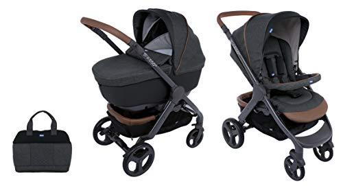 Chicco Duo Stylego Up Crossover (Sportwagen + Kinderwagenaufsatz), graphite