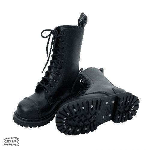 Laccio stivali, 10 fori (colore: Nero) 39, colore