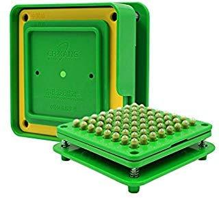 64 Löcher(0#) kapselfüller Gerät Gr. 0 Kapselfüll Maschine für Größe 0 Zum Befüllen Von Kapseln