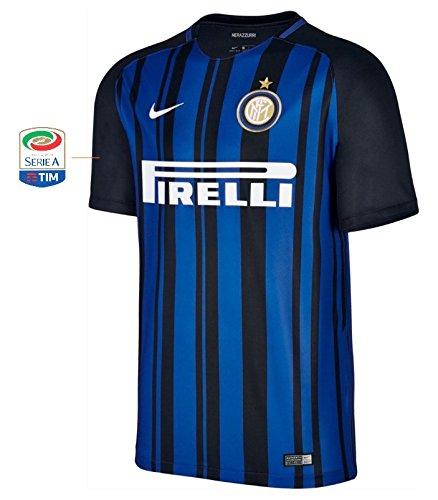 Trikot Herren Inter Mailand 2017-2018 Home Serie A (XL)