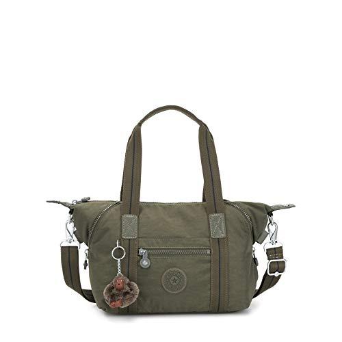 Kipling - Art Mini, Bolsos maletín Mujer, Verde (Jaded Green C)