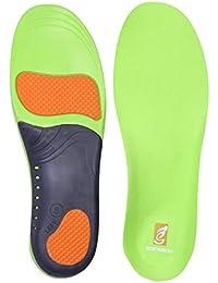 Sessom&Co Plantillas ortopédicas Soporte de arco y talón para hombres y mujeres Suela interior Inserciones de calzado de larga duración para deportes, pies planos y recambio