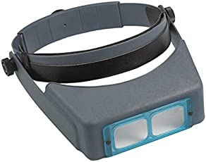 Headband Magnifier Jewellery Visor 3.5X Lens Glasses Head Visor LOUPE Binocular