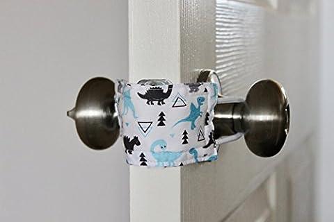 Latchy Catchy 3 Pack | Höre nie wieder, wie eine Tür zuschlägt (Don't Wake Dino) (Türdrücker Latch)