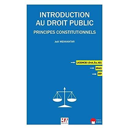 Introduction au droit public: Les principes constitutionnels