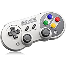 8Bitdo SF30 Pro Wireless Bluetooth Mandos Controller with Classic Joystick Gamepad for Android Nintendo Switch Windows macOS Steam