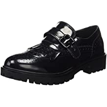 046708, Mocasines con Plataforma Mujer, Negro (Black), 40 EU Xti