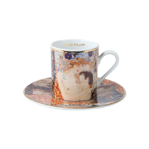 Goebel Espressotasse mit Gustav Klimt Motiv: Die drei Lebensalter