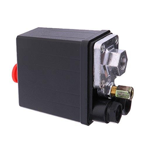 Homyl Valvola Di Controllo Del Pressostato Del Compressore D'aria 240V 175PSI 16A